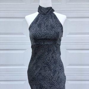 💙 Rampage Animal Print Halter Dress 💙